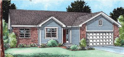 Traditional Style House Plans Plan: 10-1476