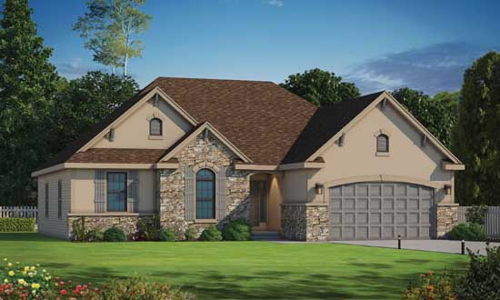 Traditional Style House Plans Plan: 10-1477