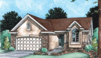 Traditional Style Home Design Plan: 10-1479