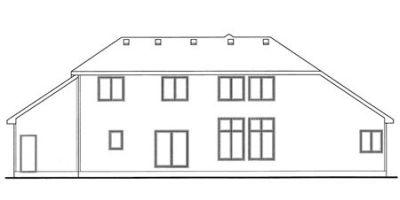 Rear Elevation Plan: 10-1484