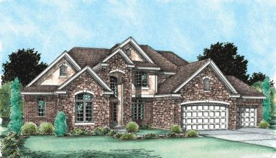 Traditional Style House Plans Plan: 10-1485