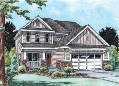 Craftsman Style House Plans Plan: 10-1491