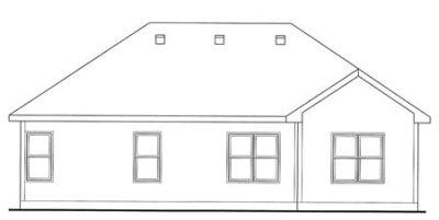 Rear Elevation Plan: 10-1503