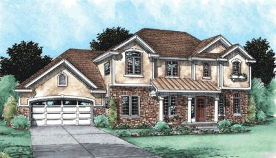 Traditional Style Home Design 10-1505