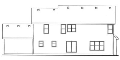 Rear Elevation Plan: 10-1506