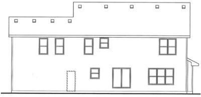 Rear Elevations Plan:10-1509