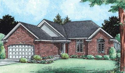 Traditional Style House Plans Plan: 10-1511