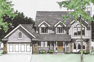 Traditional Style House Plans Plan: 10-1516
