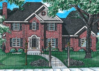 Farm Style House Plans Plan: 10-1522