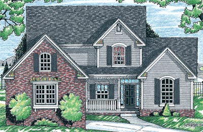 Traditional Style Floor Plans Plan: 10-1526