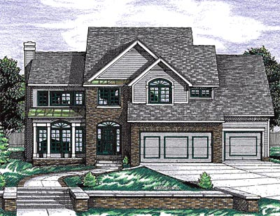 Traditional Style Floor Plans Plan: 10-1527