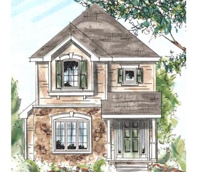 Traditional Style House Plans Plan: 10-1530
