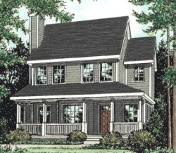 Country Style House Plans Plan: 10-1531