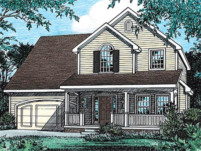 Traditional Style House Plans Plan: 10-1533