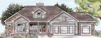 Traditional Style Floor Plans 10-1541