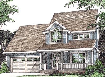 Farm Style House Plans Plan: 10-1544
