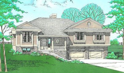 Traditional Style House Plans Plan: 10-156