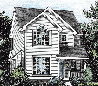 Country Style Floor Plans Plan: 10-1566