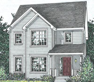 Country Style Home Design Plan: 10-1573