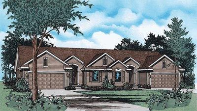 Ranch Style Floor Plans Plan: 10-1577