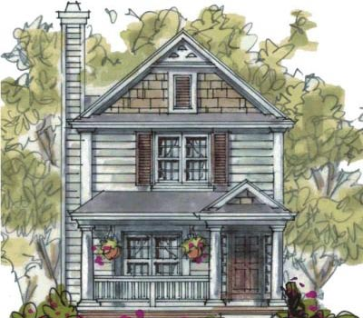 Country Style House Plans Plan: 10-1586