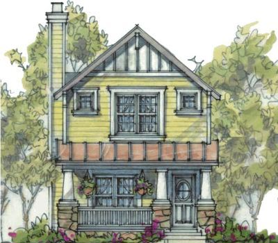 Craftsman Style House Plans Plan: 10-1588