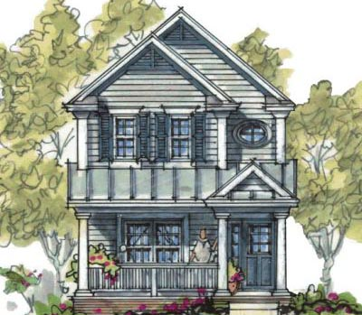 Country Style Floor Plans Plan: 10-1592