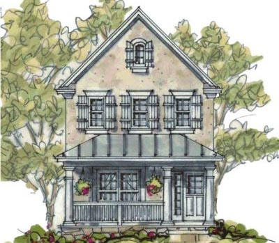 European Style House Plans Plan: 10-1593