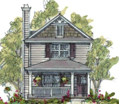 Country Style Floor Plans Plan: 10-1595