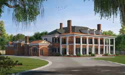 Plantation Style House Plans Plan: 10-1603