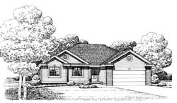 Traditional Style House Plans Plan: 10-1606