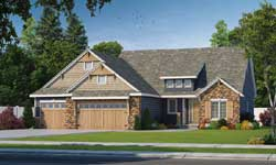 Bungalow Style Floor Plans Plan: 10-1613