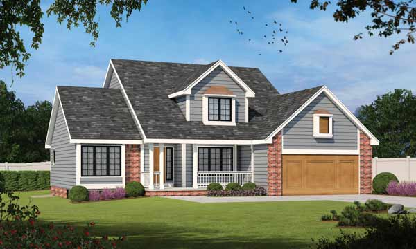 Traditional Style House Plans Plan: 10-162