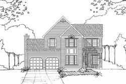 Southern Style Floor Plans Plan: 10-1624
