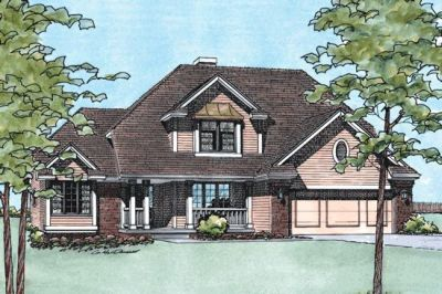 Traditional Style House Plans Plan: 10-166
