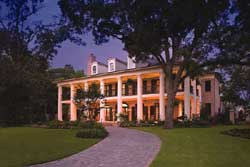 Southern-Colonial Style Floor Plans Plan: 10-1672