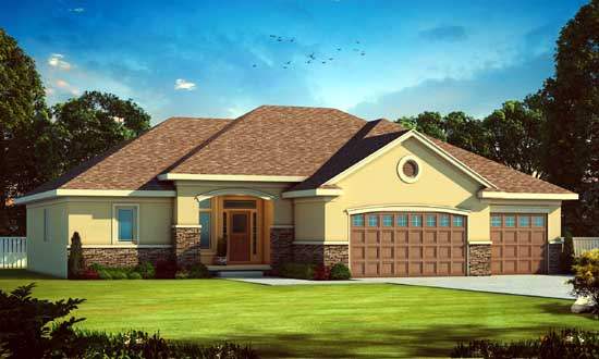Traditional Style Floor Plans Plan: 10-1677