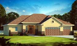 Traditional Style House Plans Plan: 10-1677
