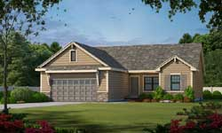 Traditional Style Home Design Plan: 10-1681