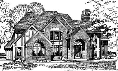 European Style Floor Plans Plan: 10-169