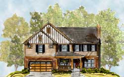 Craftsman Style House Plans Plan: 10-1699
