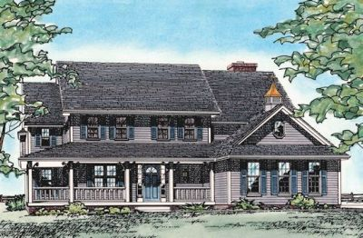 Country Style House Plans Plan: 10-170