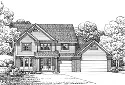 Traditional Style Floor Plans Plan: 10-1704