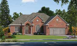 Traditional Style Home Design Plan: 10-1738
