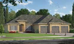 Tuscan Style House Plans Plan: 10-1787