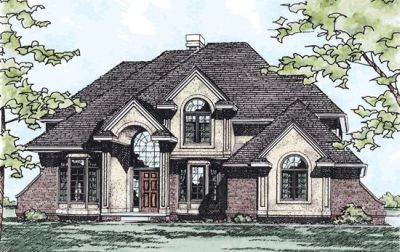 Traditional Style House Plans Plan: 10-179