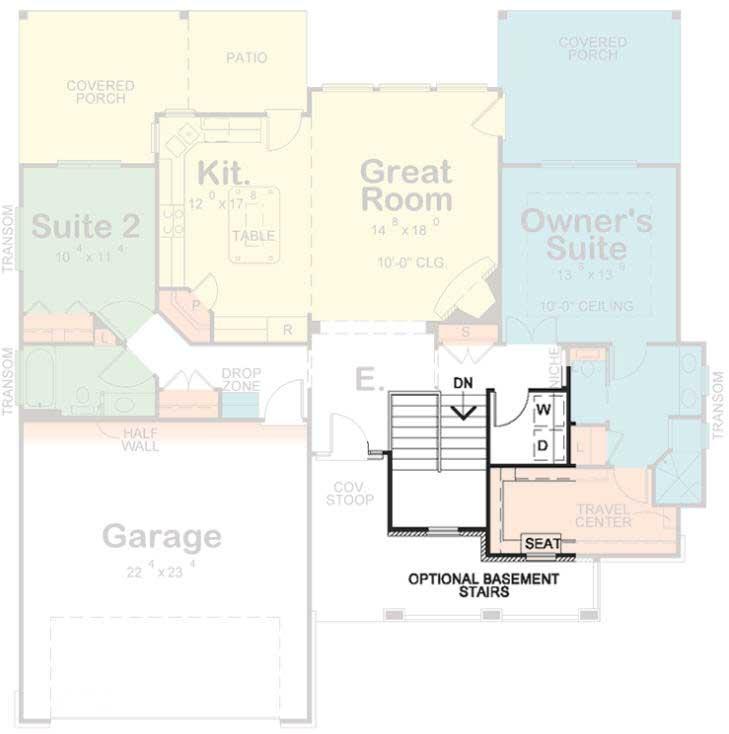 Craftsman Style House Plans Plan: 10-1797