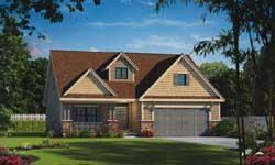 Craftsman Style House Plans Plan: 10-1807