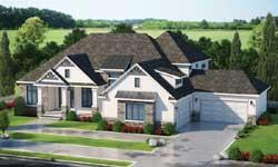 Modern-Farmhouse Style Home Design Plan: 10-1817