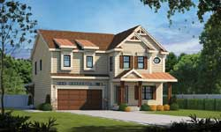 Traditional Style Home Design Plan: 10-1835